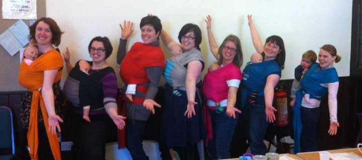 Sheffield Slings baby wearing peer supporter and chiropractor Libby Phillips